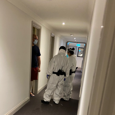 ONE MORE CONFIRMED CASE AT PARK HOTEL