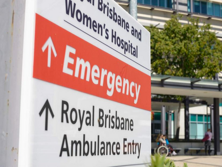 Refugee Health Crisis leads to Bedside Arrest at the Royal Brisbane and Women's Hospital