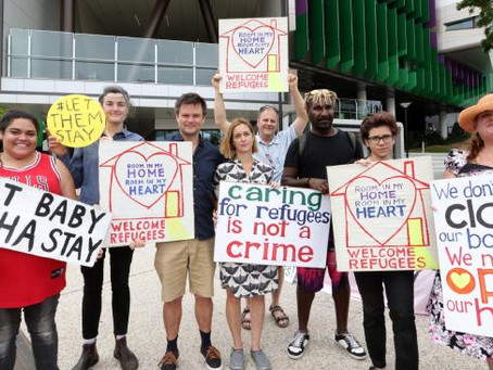 All In!! Rally in Solidarity with Lady Cilento Children's Hospital Staff