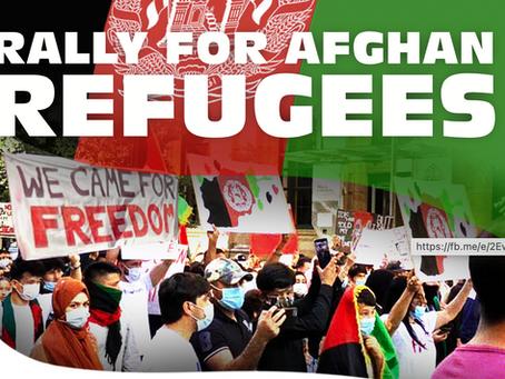 Rally for Afghan Refugees