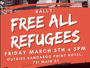 Free All Refugees! Rally and March