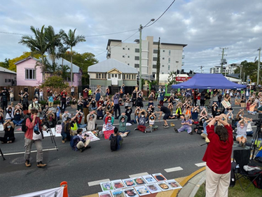 Community Rally: Brisbane Says Welcome