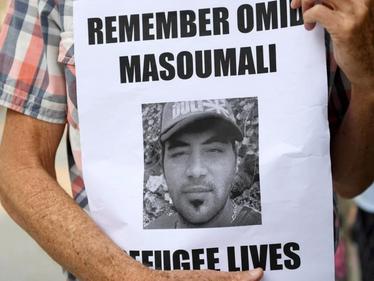 Vigil for Omid Masoumali - A victim of systemic neglect
