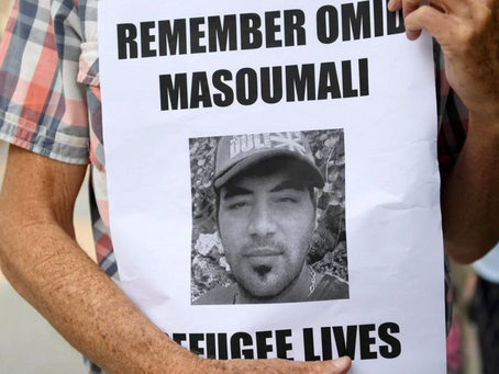 Vigil for Omid Masoumali - A victim of systemic neglect