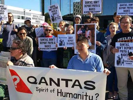 Tell Qantas : Stop deporting refugees and asylum seekers!