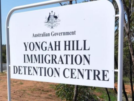 Rooftop Protest at Yongah Hill Detention Centre