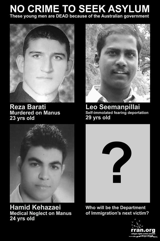 3 asylum seekers who have died