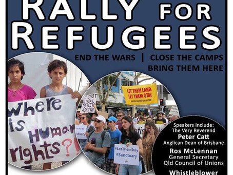 Palm Sunday Rally for Refugees