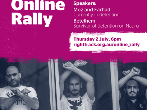 Online Rally: Freedom from Detention!