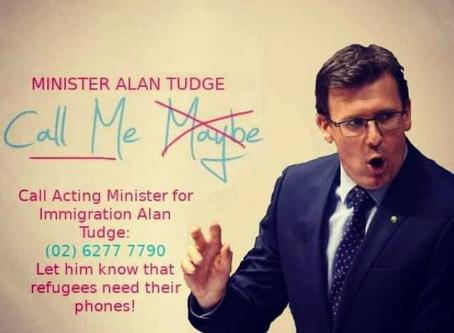 Phones are a Lifeline: #ShameAlanTudge Calling Party