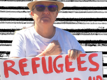Rally at BITA: 8 Years No Freedom