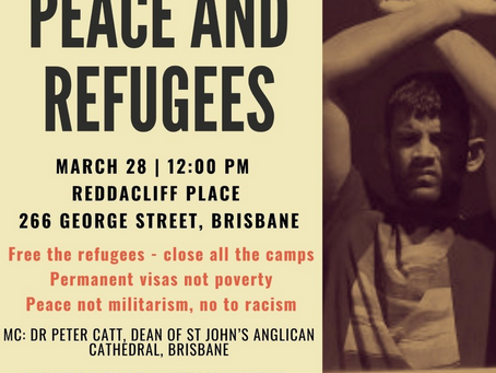 Palm Sunday Rally for Peace and Refugees