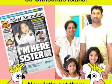 Brisbane: Let's get Tharni and family home to Biloela