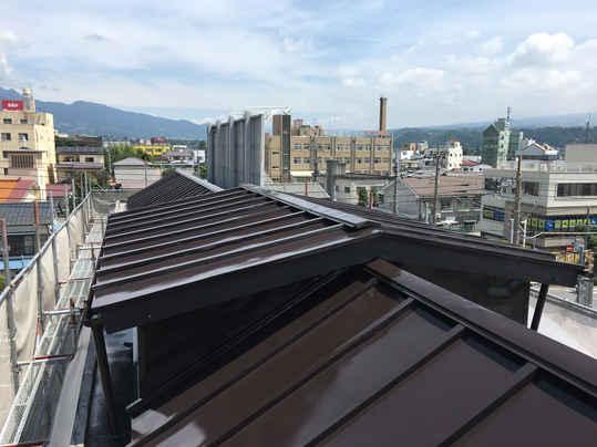 屋根塗装:施工後