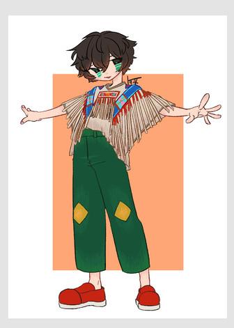 民族衣装×私服化3