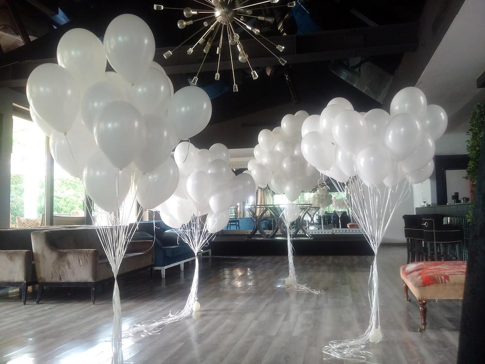 Baloane cu heliu la petrecere tematica Aqua Herastrau Bucuresti
