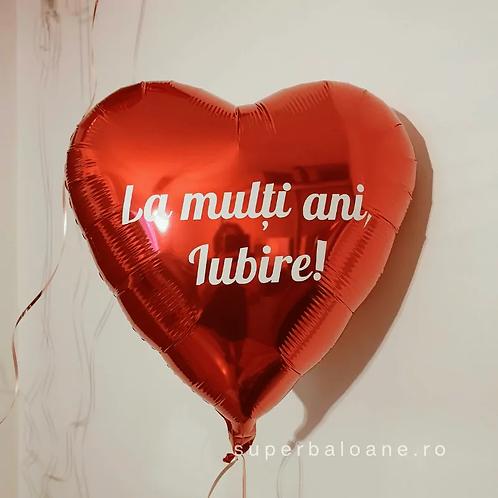 Baloane inimǎ personalizate şi umflate cu heliu