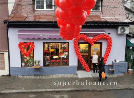 Baloane cu heliu sau baloane cu aer sau pentru Valentine's Day?