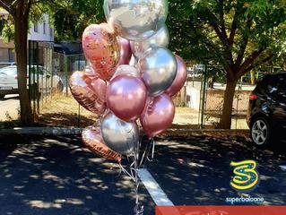Baloane cu heliu pentru o petrecere surprizǎ de neuitat