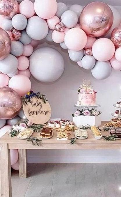 Botez fetite - Arcada creatie artistica pentru Candy Bar