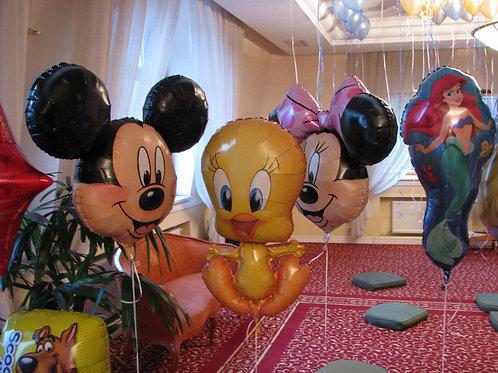 Baloane cu heliu pentru acasa - petreceri copii