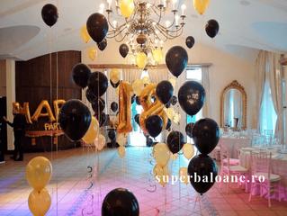Baloane cu heliu pentru un majorat de poveste