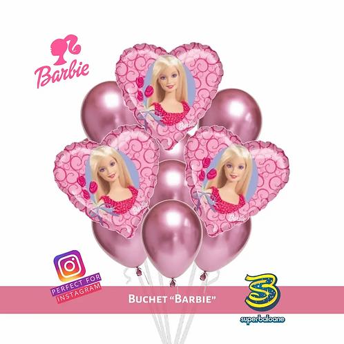 Buchet de baloane cu heliu Barbie