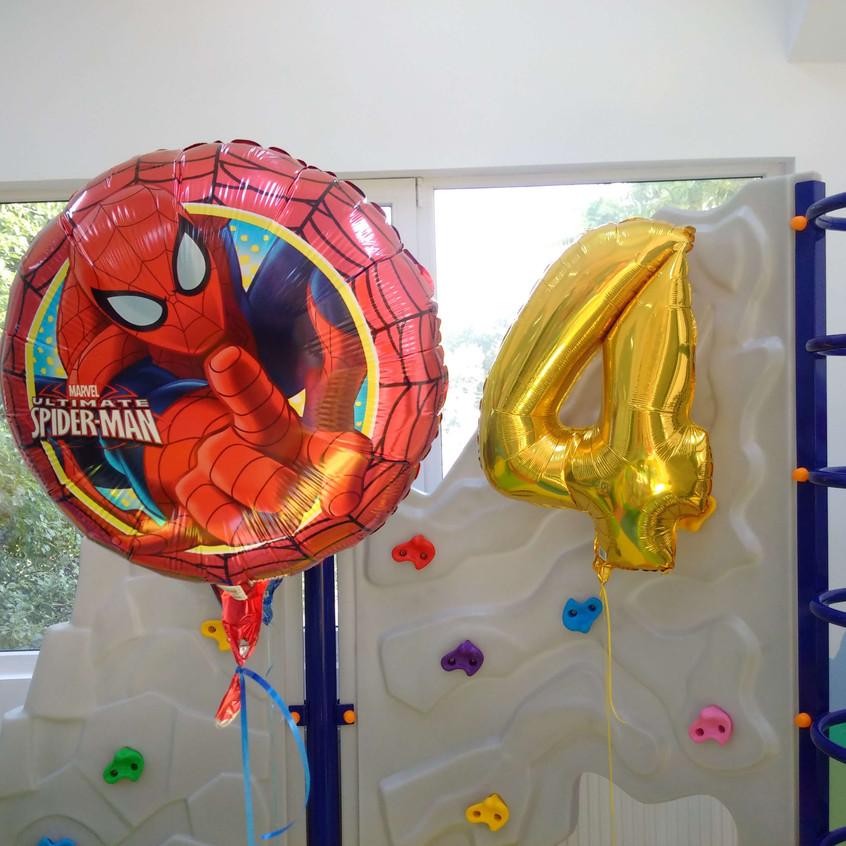 Baloane folie cifre umflate cu heliu Bucuresti