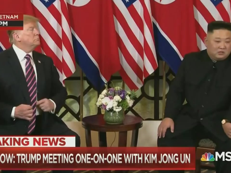 """President Trump in Hanoi: """"It's an Honor To Be with Chairman Kim"""""""