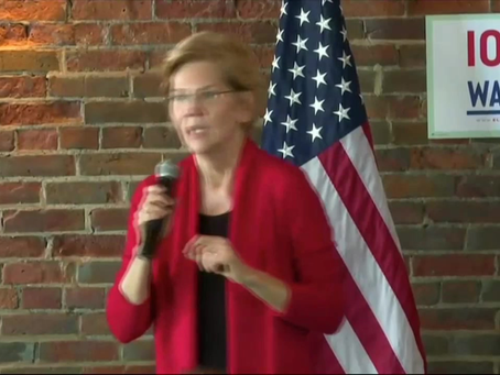 Warren Confronted in Iowa for Voting Against Born-Alive Abortion Survivors Protection Act