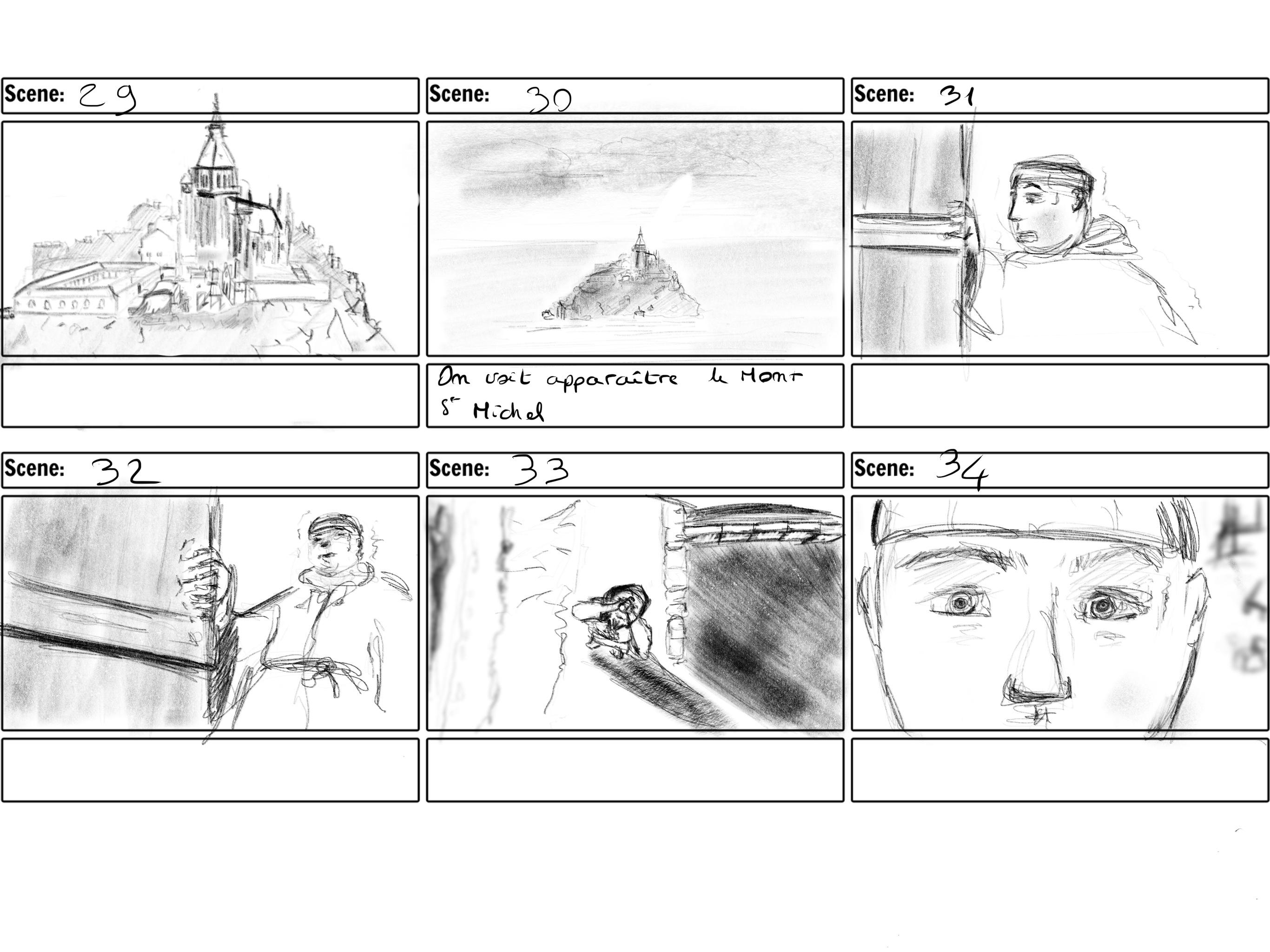 story board victor boccard