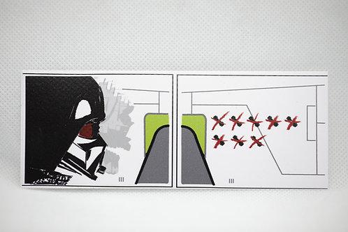 Republick gunship Sticker -Dark Vador