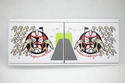 Republic gunshipSticker - Arc trooper red
