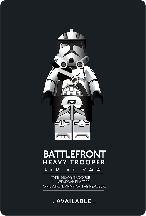 BATTLEFRONT HEAVY TROOPER