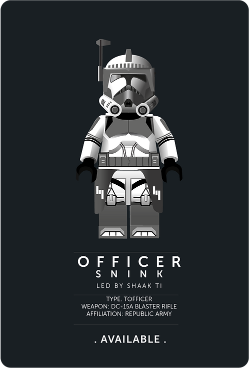 KAMINO SECURITY OFFICER SNINK