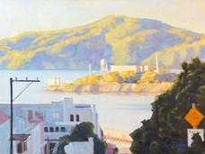 Alcatraz from Leavenworth #2 / SOLD