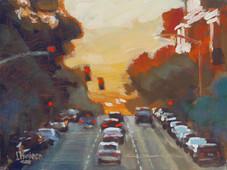 Sunset on Pine / SOLD