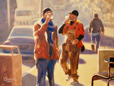 Morning Coffee / SOLD