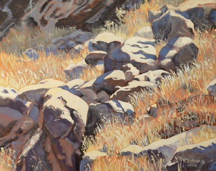 Tahquitz Canyon Rocks #3 [SOLD}