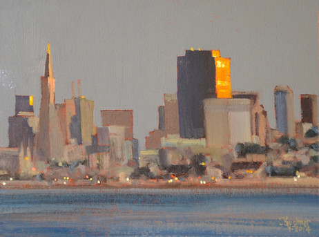 Sunset from Sausalito / SOLD