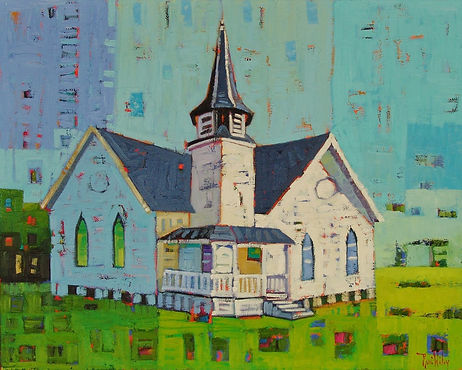 Galveston SDA Curch, Painted by