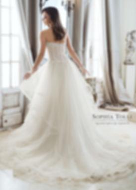 Wedding Dress, Sophia Tolli, Mon Cheri, Y11867 Cleo