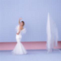 White long dress,Yohji Yamamoto,Teacup