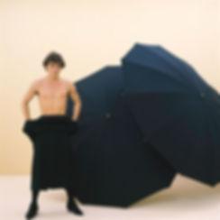 Alpha Cubic 10 years anniversary,black umbrellas,Timothy