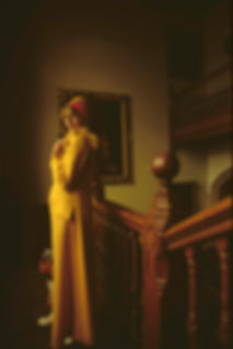 Ropé,Vicky,Northumberland,Yellow coat by Sam Edelstein