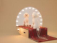 AFD,Hara Design Institute, Toy Poodle,Make up mirror, Konstantin GRCIC