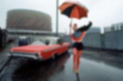 QUEST 2008_Britt_AnAnLondon(1971),Yamato SHIINE,John FRIEDA,Jillie MURPHY,Fulham,Orange American car,Stan RIBTON