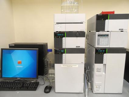 Shimadzu Prominence HPLC with RID