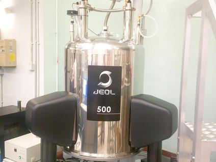 JEOL 500MHz FT-NMR System