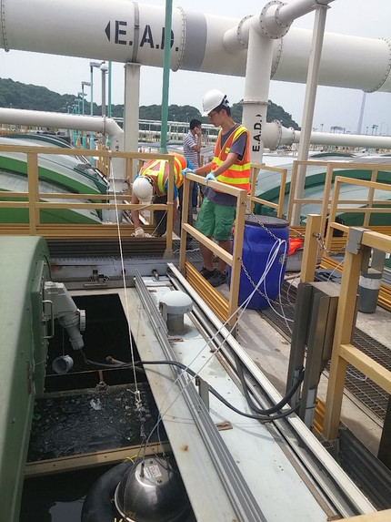 Odour Survey on HATS Stonecutters Island Sewage Treatment Works